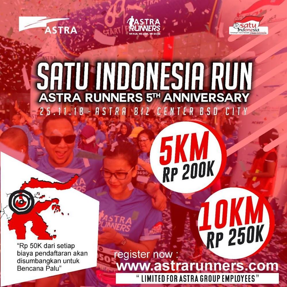 Satu Indonesia Run • 2018