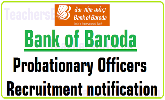 Bank of Baroda,Probationary Officers,Recruitment