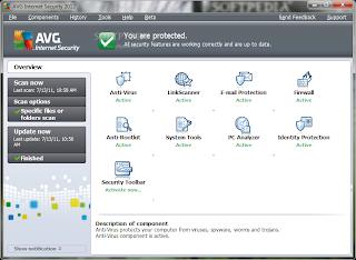Free Download AVG Internet Security 2012 Installer Offline 32 Bit & 64 Bit
