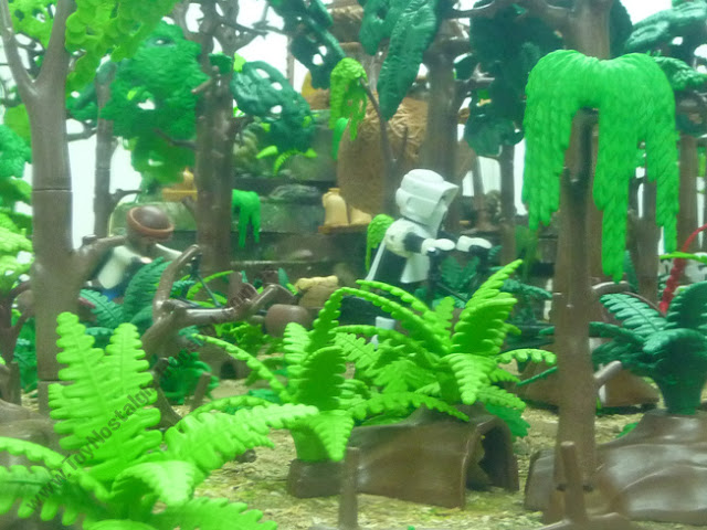 Diorama Playmobil Star Wars La Batalla de Endor