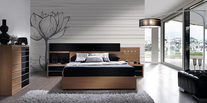 Design e decoração de quartos de casal modernos  ~ Quarto Sala Moderno