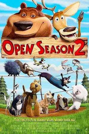 Open Season 2 (2008) 250MB Full Hindi Dual Audio Movie Download 480p BRRip thumbnail