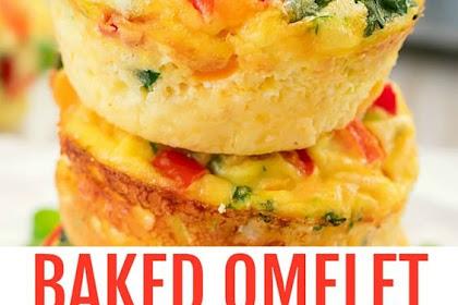 Baked omelet muffins