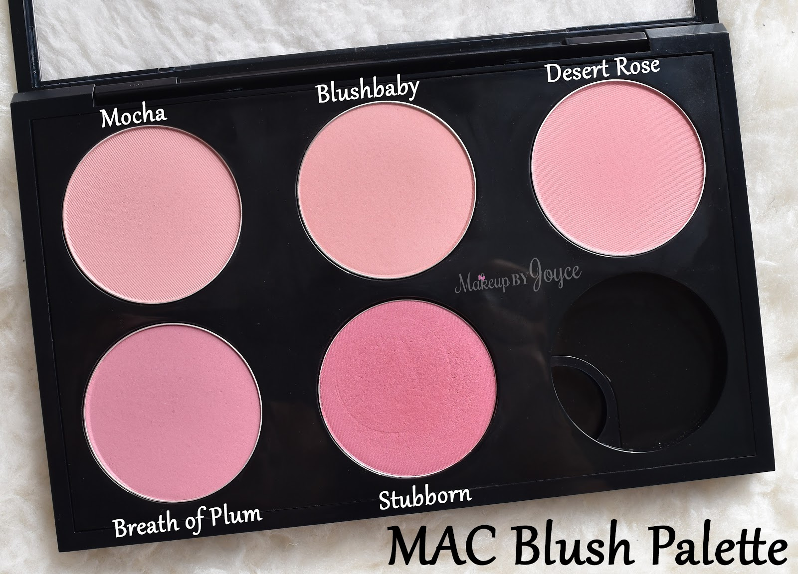 Makeupbyjoyce Swatches Review Mac Haul Blush