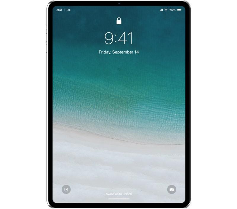 iPad Pro 2018 mock up