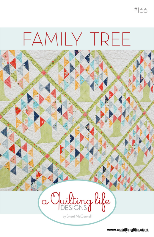 New Quilt Pattern Family Tree A Quilting Life A