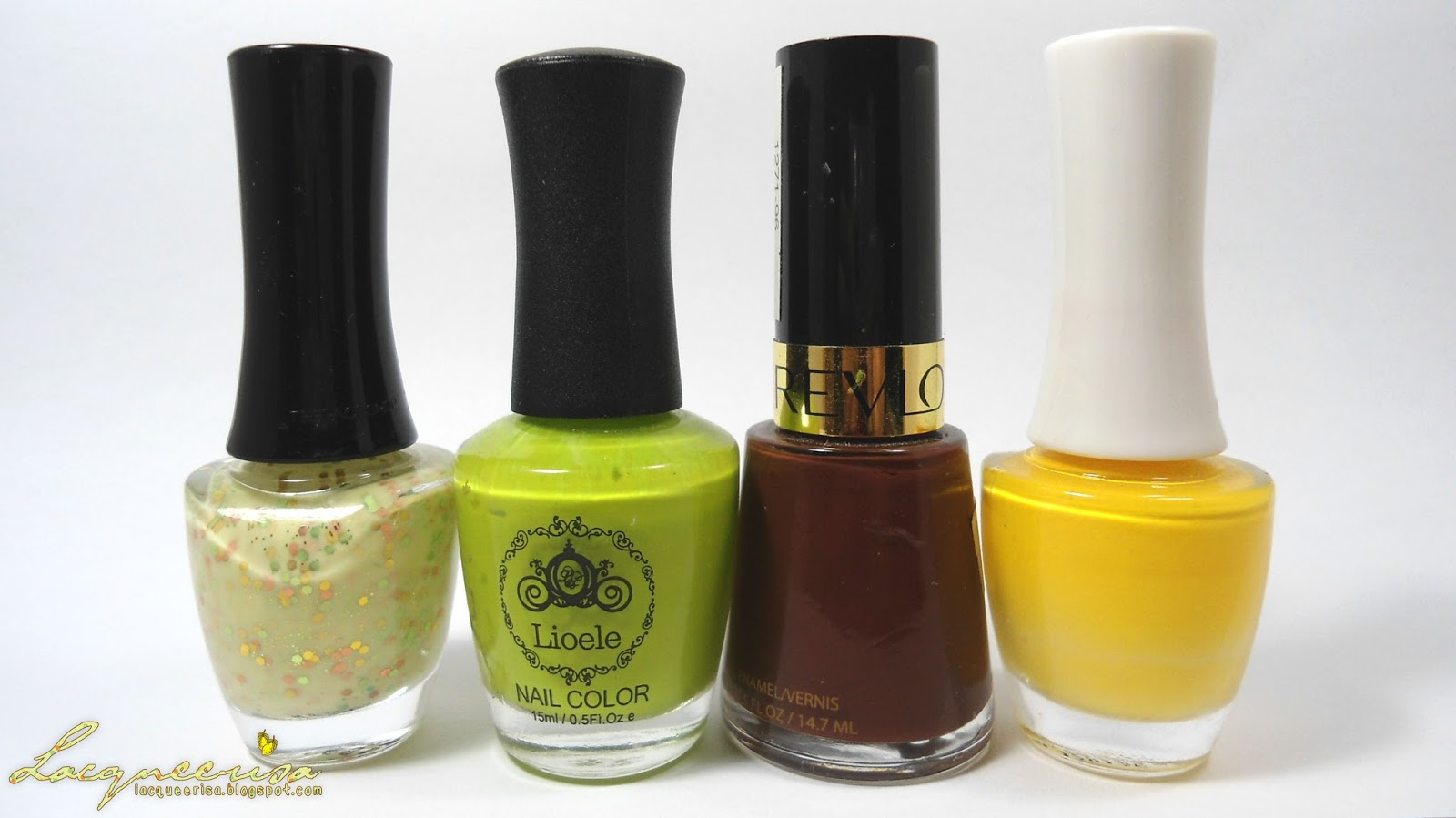 Nail polishes used