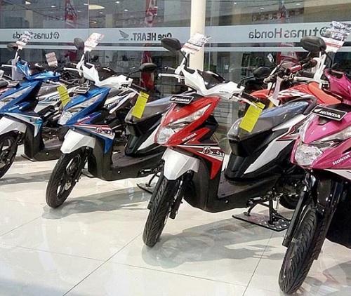 Penjualan Motor Honda November 2018