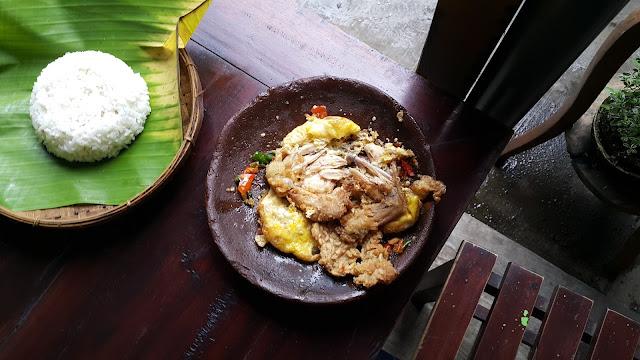 ayam geprek enak Malang