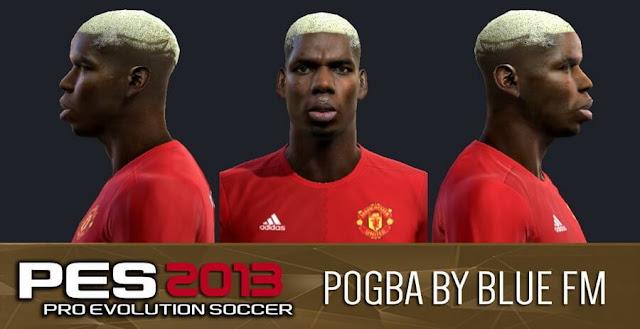 Paul Pogba Face PES 2013