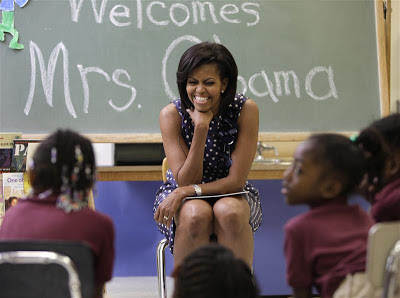 Michelle Obama Fights Childhood Obesity