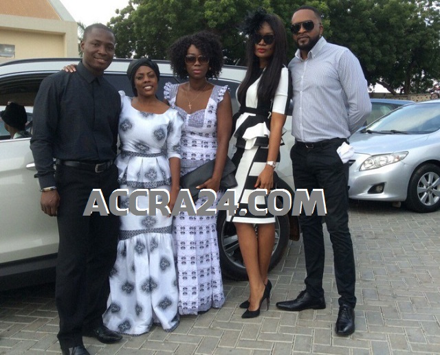 JJ Rawlings, Ama K, Sandra Ankobiah and more at Nana Aba Anamoah's dad funeral