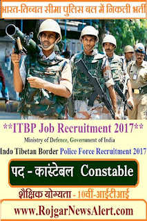 ITBP Job Recruitment 2017