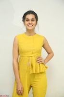 Taapsee Pannu looks mesmerizing in Yellow for her Telugu Movie Anando hma motion poster launch ~  Exclusive 124.JPG
