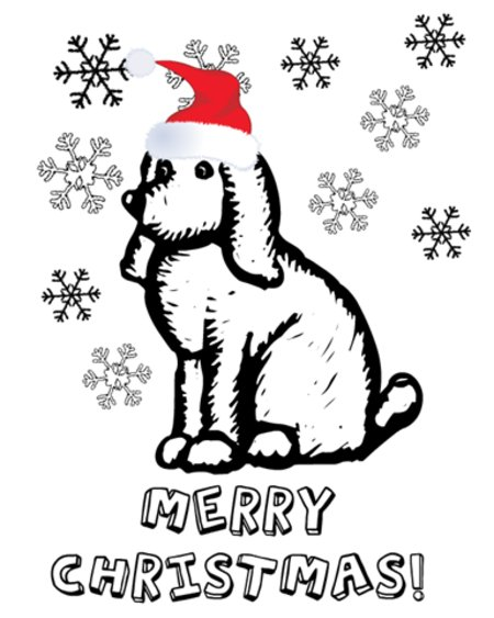 Christmas Puppies Coloring Pages for Kids >> Disney ...