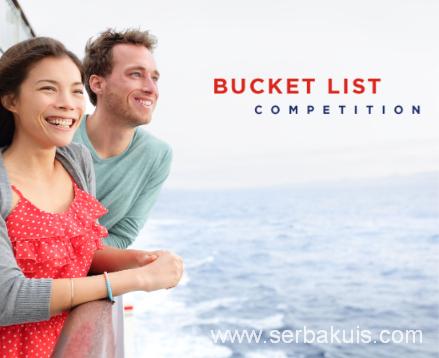 Kontes Menulis Bucket List Berhadiah Liburan Gratis