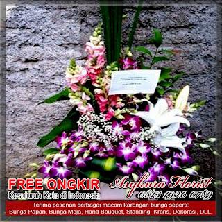 toko bunga vas Pondok Melati kota bekasi