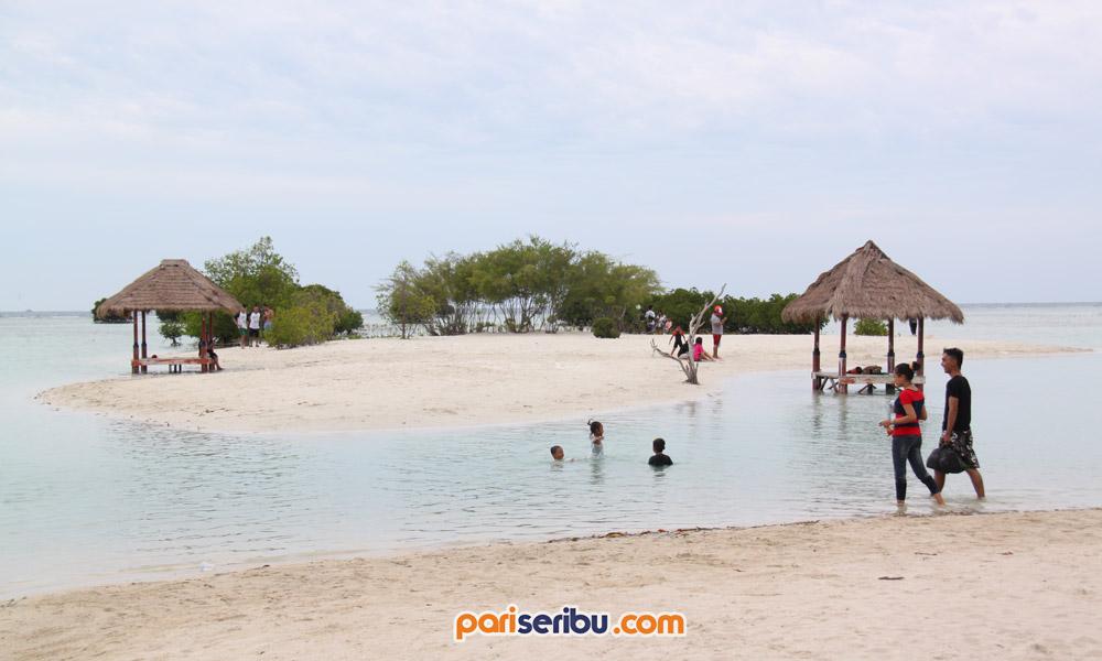 Pantai Pasir Perawan Pulau Pari Wisata Pulau Pari Kepulauan Seribu
