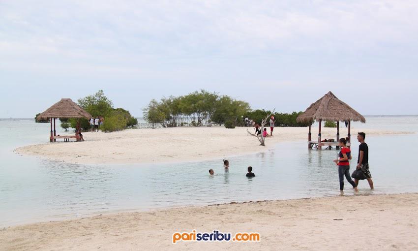 Pantai Pasir Perawan Wisata Pulau Pari