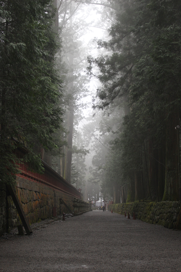 temple dans la brume - Nikko, Japon