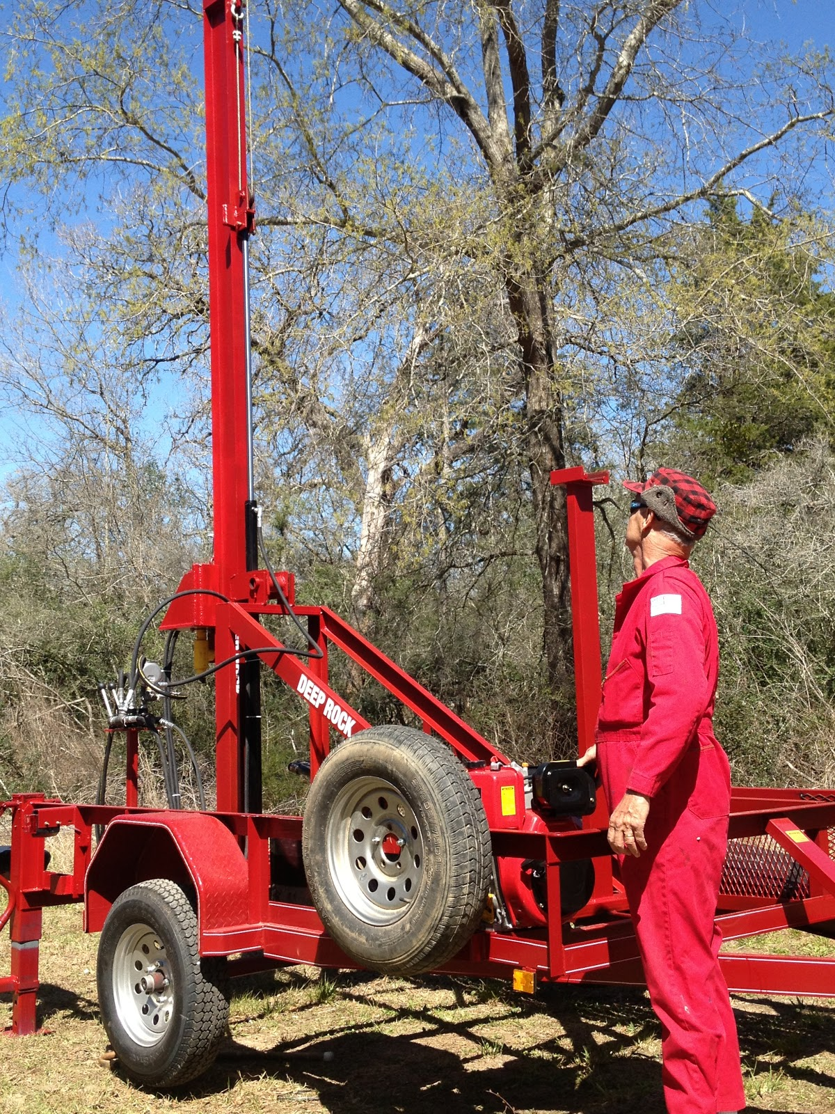Best all around Small DIY Water Well Drilling Rig | DIY Water Well