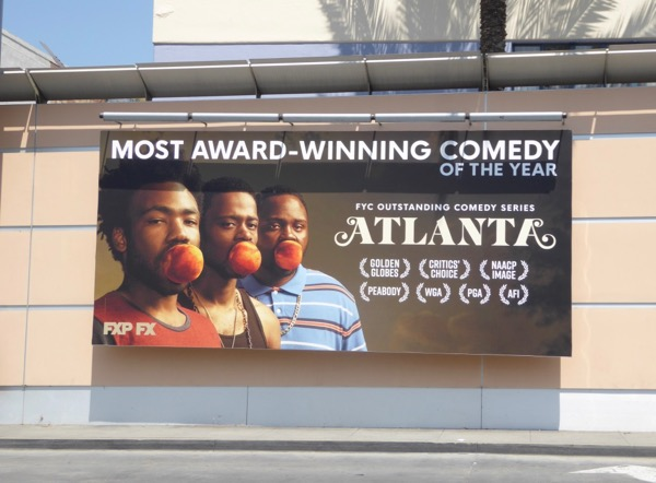 Atlanta season 1 Emmy noms billboard