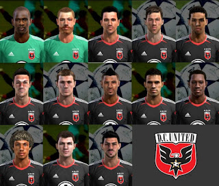 D.C. United Facepack Pes 2013 by Cirkac-95