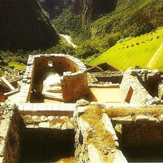 O Templo do Sol, Os Terraços Agrícolas e O Rio Urubamba, em Machu Picchu