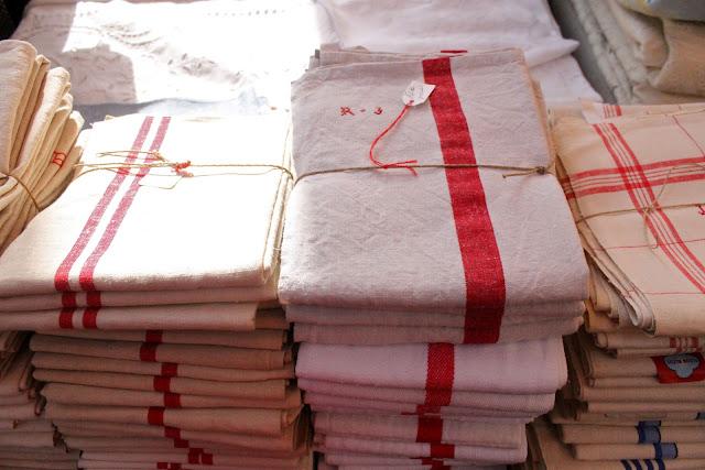 torchons or tea towels