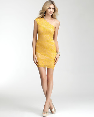 short yellow mini lace dress short