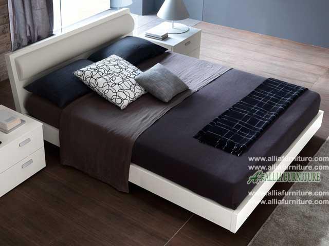 tempat tidur minimalis model alves