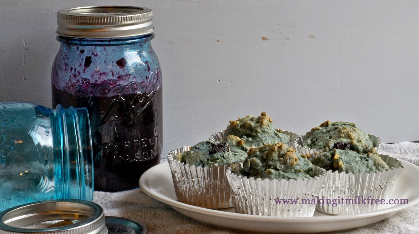 #glutenfree #dairyfree #allergyfriendly #blueberry