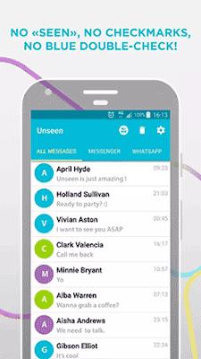 cara baca pesan whatsapp tanpa centang biru