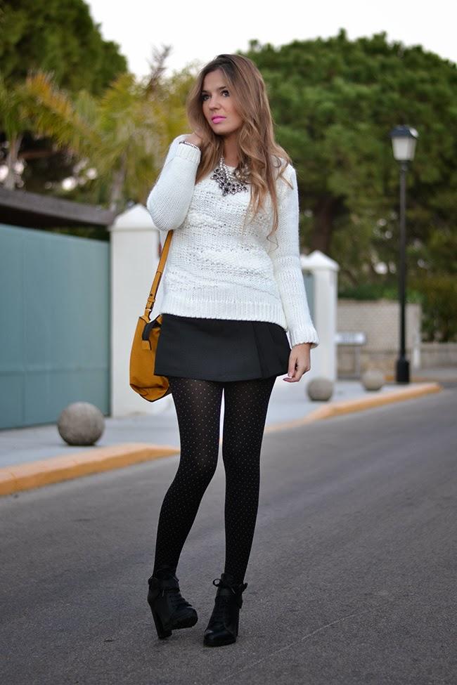 7d4324dc74 JACQUARD SKORT – Mi Aventura Con La Moda