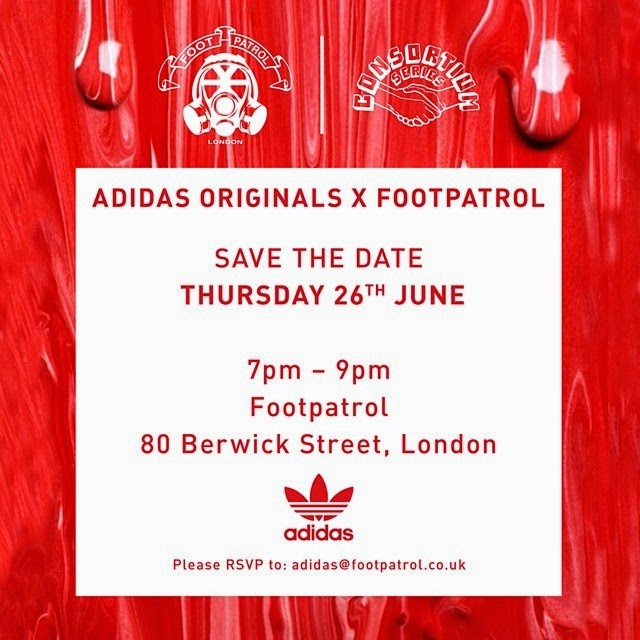 best website cfc1f 4a45c adidas Originals Consortium x Footpatrol Edberg 86 Strawberries  Cream  Release