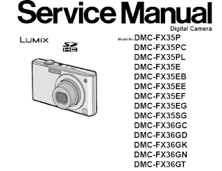 Panasonic DMC-FX35 Service Manual