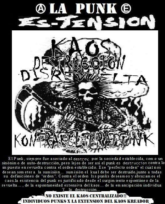 LA PUNK ES TENSION N1