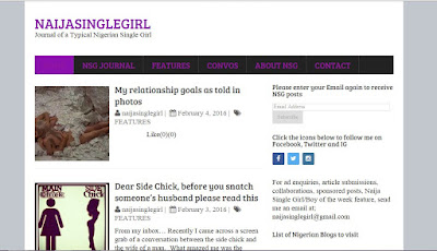 naija single girl blog