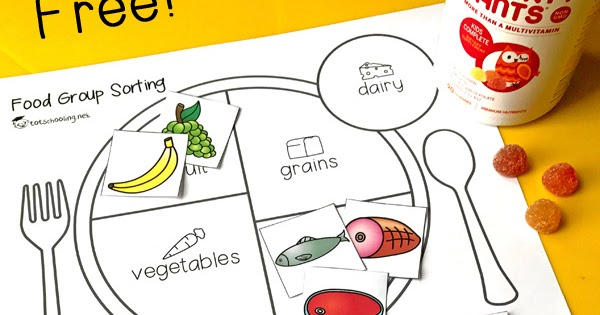Food Groups Balanced Diet Worksheet