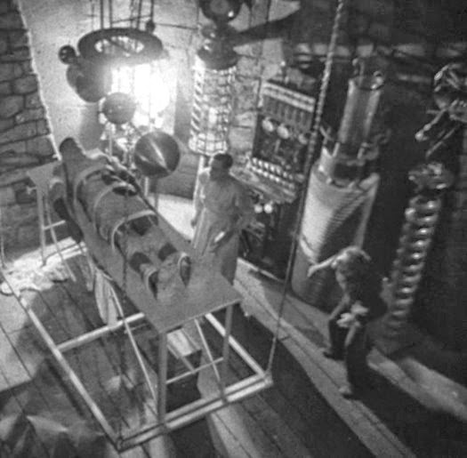 Aninimal Book: Montana Moments: Frankenstein's Lab