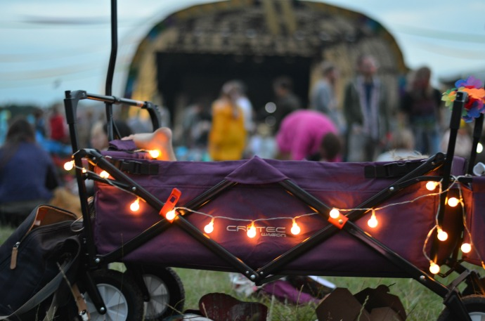 festival wagon, Wilderness festival, family friendly festival, festival with children