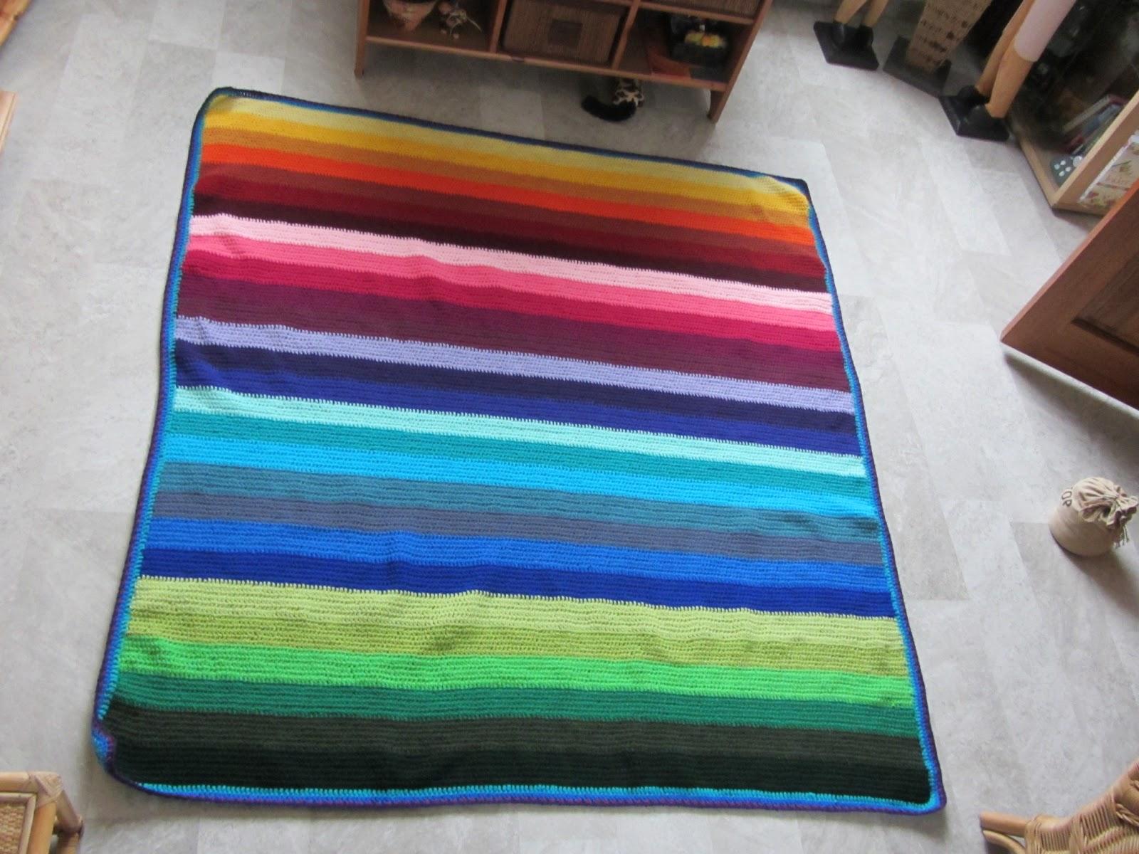 A Handmade World De Regenboog Deken