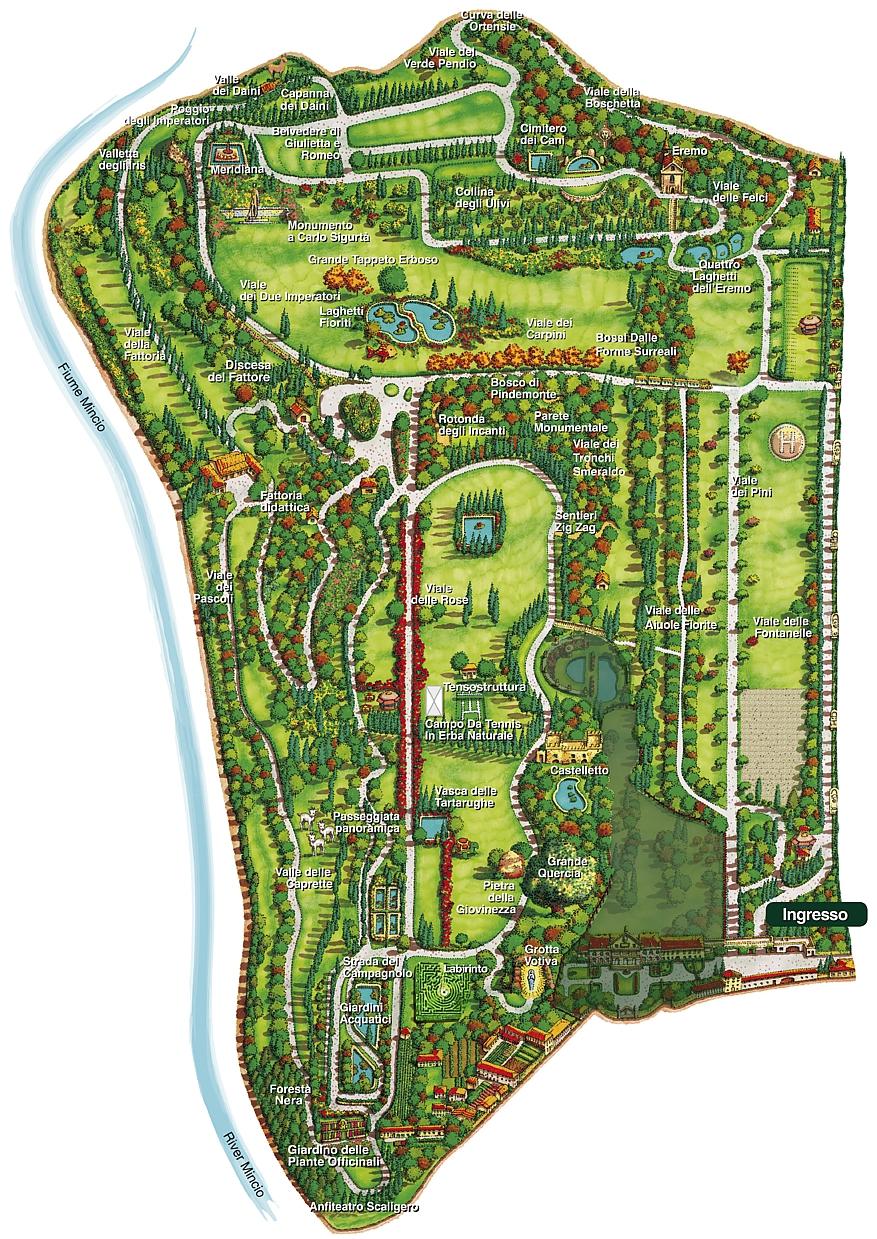 Lord bonold a travelling gentleman parco giardino for Lago villa del conte