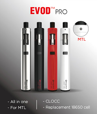 Four Colors For Kangertech EVOD PRO Starter Kit