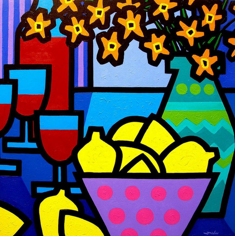 Cuadros Modernos Pinturas y Dibujos : Bodegones modernos para cocina ...