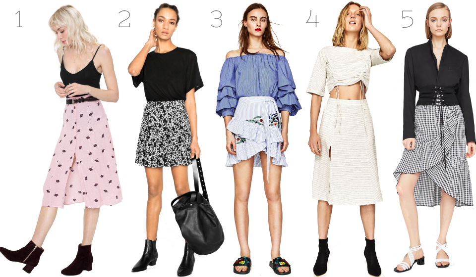 Spring, skirts, and other stories, Mango, Zara, womenswear, fashion, fashion blogger