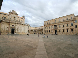 Piazza Duomo in the Baroque city of Lecce