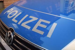 Немецкая полиция в Аугсбурге
