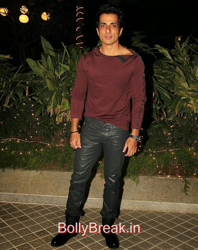 Sonu Sood, Bollywood Celebrities At Farah Khan's GRAND 50th Birthday Party