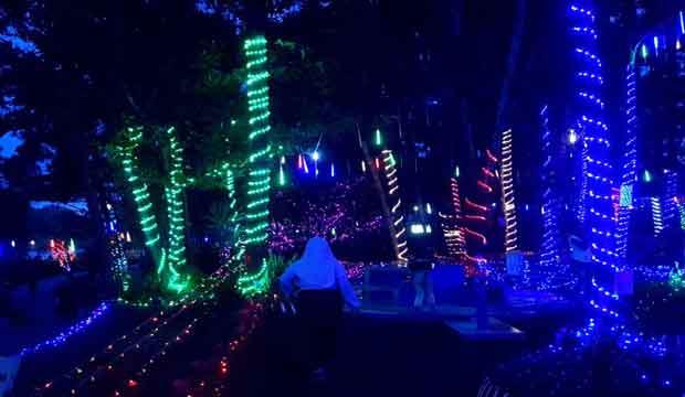babel bhay park malam hari
